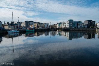 Irlande, Comté du Connemara, Galway, les quais