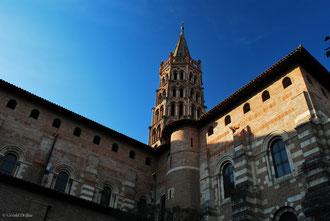 Toulouse, la ville rose c'est plutôt orange