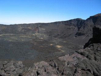 Cratère du Dolomieu, Piton de la Fournaise, Ile de la Réunion
