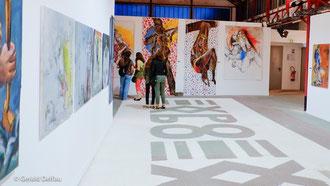 Exposition ARTCITE, Fontenay-sous-bois, Val-de-Marne, oeuvres sur la maltraitance des femmes nous laissent dubitatifs