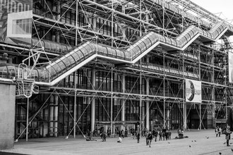 Paris, Beaubourg