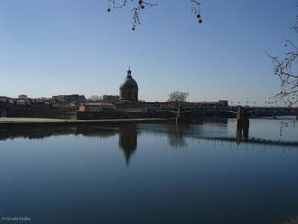 Toulouse, Garonne, reflet historique