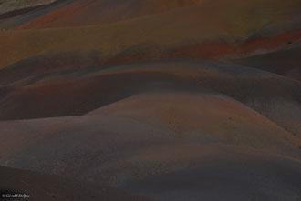 Terre de couleur à Chamarel, Ile Maurice