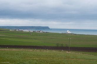 Irlande, paysage de la côte d'Antrim en Irlande du Nord