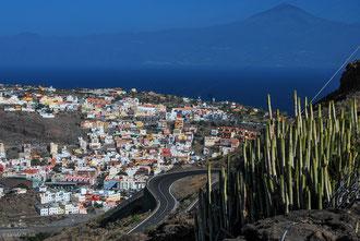 Vue sur San Sebastian de la Gomera Archipel des Canaries