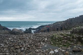 Irlande du Nord, chaussée des Géants (Giant's Causeway)