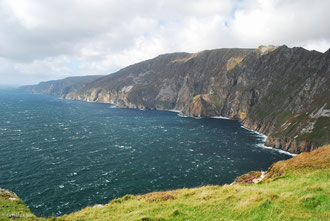 Slieve league cliffs dans le Donegal en Irlande
