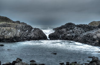 Irlande du Nord, Ballintoy Harbour, Games of Thrones