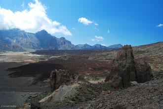 Caldeira du volcan Teide, Canaries, Tenerife