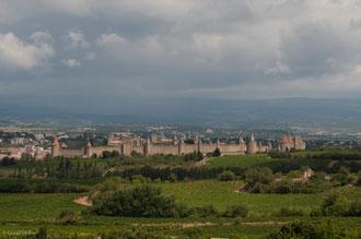 Carcassonne, France, cité médiévale