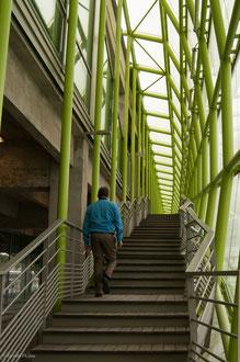Paris, musée de la Mode, escalier