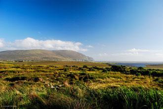 Paysage dans la région de Drumcliff en Irlande