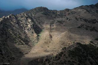 Paysage sur lîle de la Gomera Archipel des Canaries
