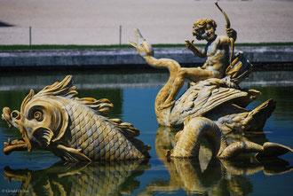 Versailles, Bassin du Dragon
