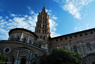 Toulouse, France, Basilique Saint-Sernin,