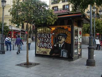Place de Madrid en Espagne