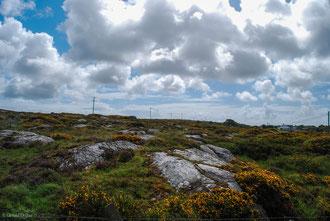 Irlande, Comté de Sligo, lignes électriques