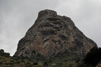 Orgues basaltiques sur l'île de la Gomera Archipel des Canaries