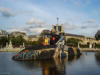 Paris 2006, Sous-marin d'Alexander Ponomarev, bassin des Tuileries