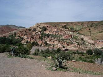 Plateau du Haut Atlas au Maroc