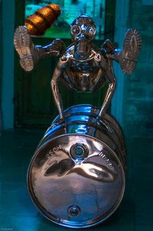 Sculpture sur la menace nucléaire, Barbizon