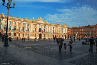 Toulouse, France, place du Capitole,