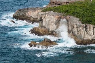 Guadeloupe, Nord Grande-Terre, Pointe de la Vigie à Porte du Diable
