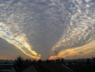 Ciel de traine à Rosny-sous-bois
