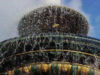 Paris, Fontaine des fleuves place de la Concorde
