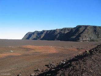 Plaine des sables Piton de la Fournaise Ile de la Réunion