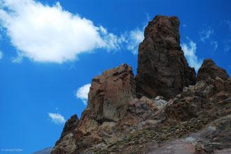 Renfort de la Caldeira du volcan Teide, Canaries, Tenerife