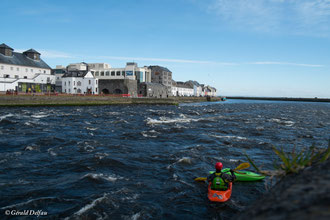 Irlande, Comté du Connemara, Galway, Corrib river
