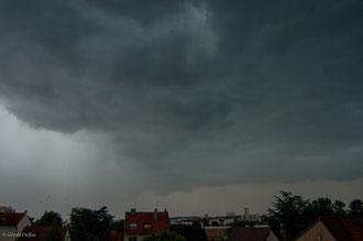 Ciel d'orage à Rosny-sous-bois
