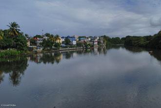Ile Maurice, rivière dans Mahébourg