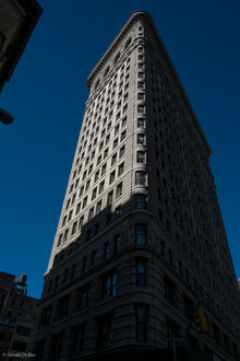 New_York, Manhattan, Flatiron building