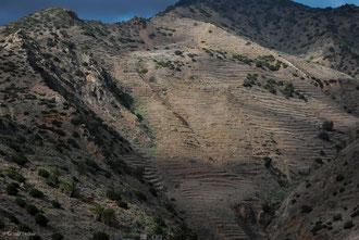 Paysage sur l'île de la Gomera Archipel des Canaries