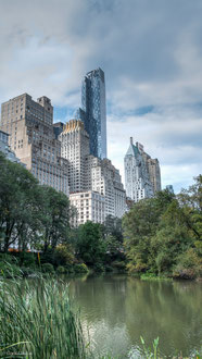 New York, Manhattan, Buildings, Central Park