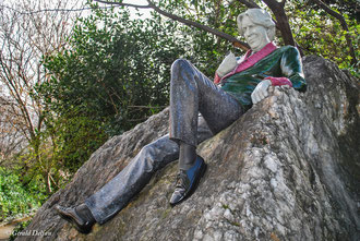 Oscar Wilde à Merrion Square à Dublin