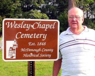 Roger Frowein - Wesley Chapel Cemetery