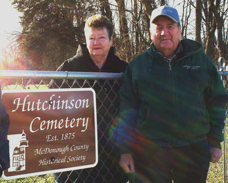 Diana Kreps and Don Logan - Hutchinson Cemetery