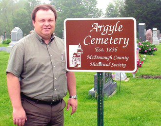 The Rev. Mike Deblois - Argyle Cemetery
