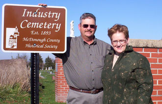 Jere and Paula Greuel - Industry Cemetery