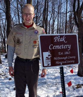 Scott Knicl - Peak Cemetery