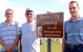 David Havens, Kenny Garrett, and Kevin Walter - Prairie City Cemetery
