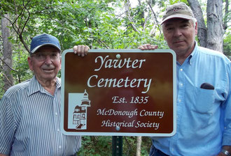 Alvin Curtis and Dan Curtis - Vawter Cemetery