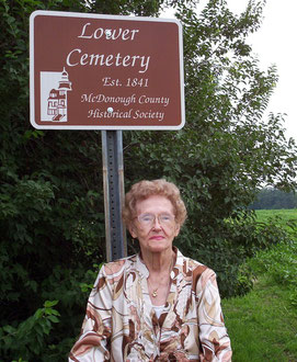 Margaret Foster - Lower Cemetery