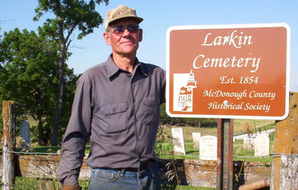 Ralph Wolf - Larkin(s) Cemetery