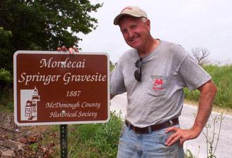 Mike Woodside - Mordecai Springer Gravesite