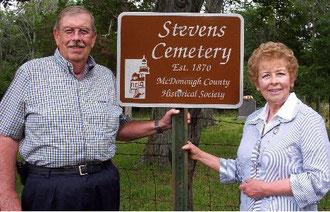 Garold Parkins and Sheryl Parkins Voorhis - Stevens Cemetery