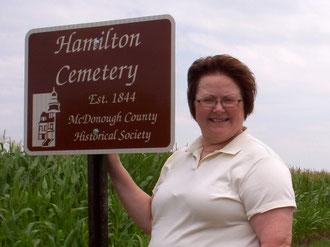 Janice Hamilton King - Hamilton Cemetery